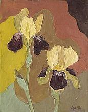 Schwichtenberg, Martel: Zwei gelbe Schwertlilien