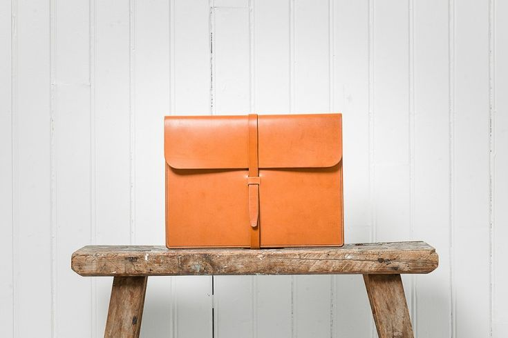 Leather goods by Swedish design brand Böle.