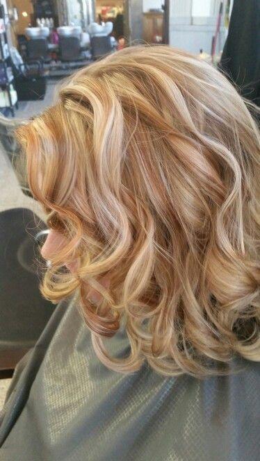 New Beginnings Salon In 2019 Hair Color Gold Hair