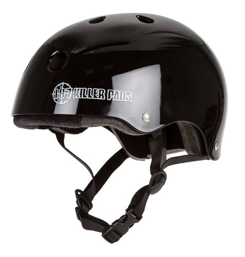 This lightweight & comfortable 187 Killer Pads Pro Skate Helmet is a great choice for skateboarding and roller derby offered at $38.95 by Warehouse Skateboards.