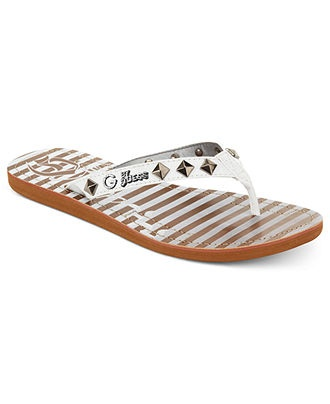 G by GUESS Womens Studded Sandals BUY NOW!