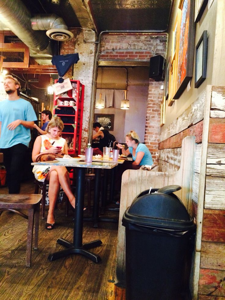 We are in The Grey Dog's NYC in the Greenwich Village NY