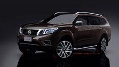 Nissan Navara-based SUV - Rendering