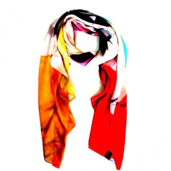 Face scarf. Modal fabric. 100% Made in Italy