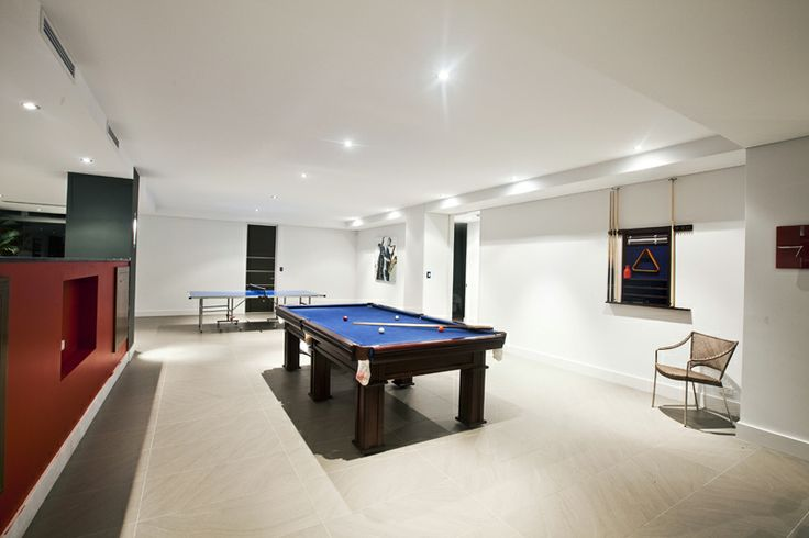 Games Room in Luxury Holiday Home