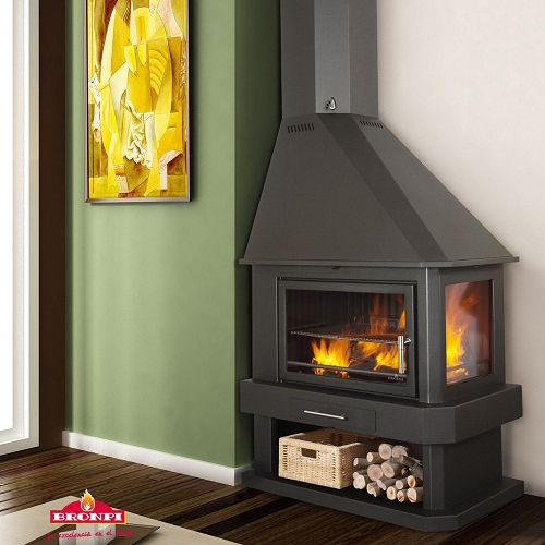 Cheap Wood Burning Stoves | ... stove more efficient and cleaner burning by burning the gasses twice