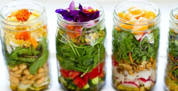 """Diaporama """"Les 10 lunch-box les plus originales"""" - Bocaux en verre"""