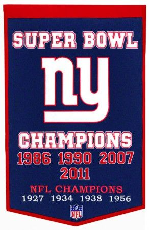 NY Giants banner ... www.proflagsandbanners.com