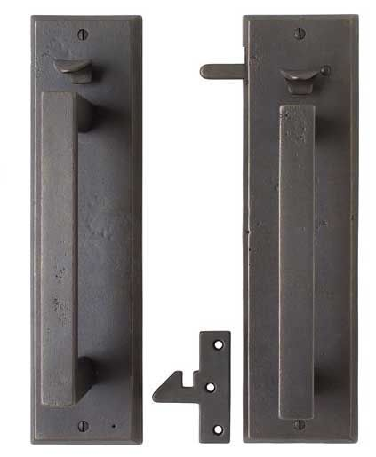 Bronze Gate Hardware And Bronze Gate Latches From Rocky Montain Hardware.  Featured With The Signature Garden Gates Of Charles Prowell Woodworks.