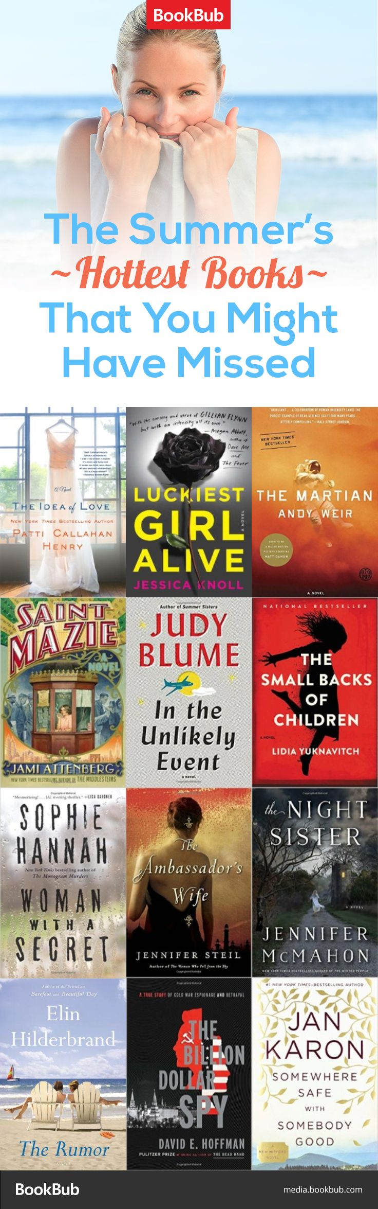 Summer may be ending, but you can still add these beach reads to your reading list.