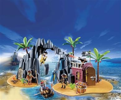 Playmobil Πειρατικό Νησί Θησαυρού (6679) |  49.99