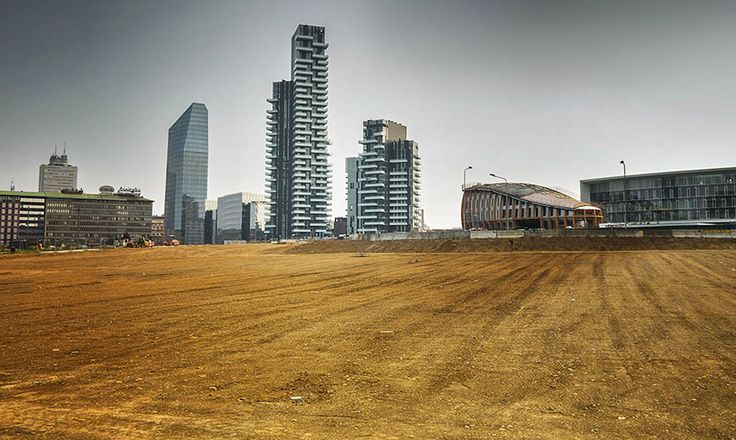 Wheatfield - Land Art in Milano for #EXPO2015