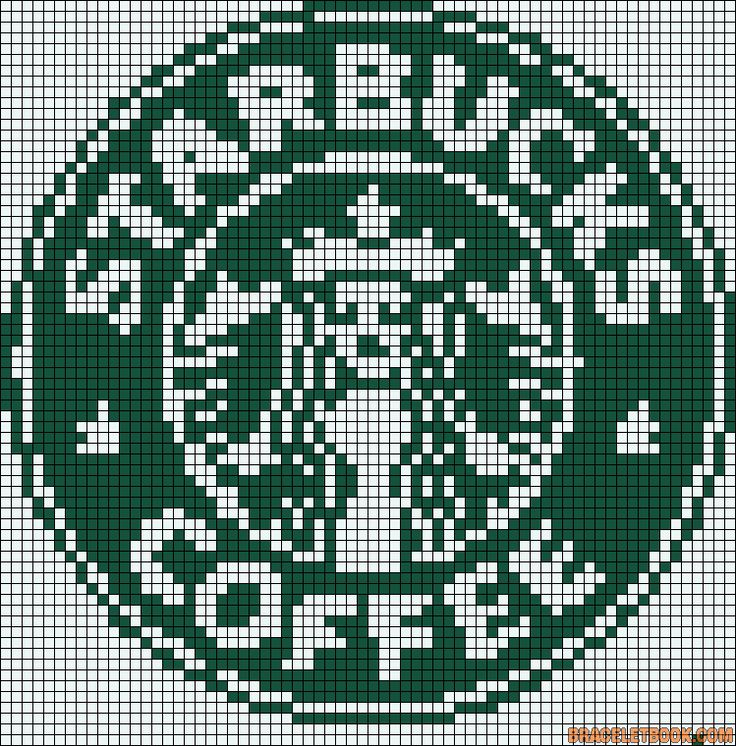 Point de croix*m@*Cross stitch Starbucks