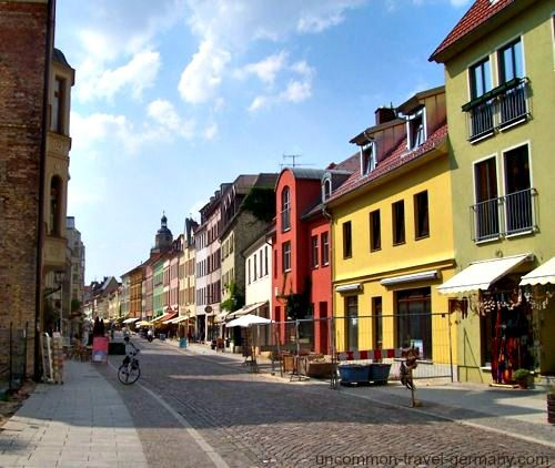 Wittenberg, the home of Martin Luther, is about one hour from Berlin by train.
