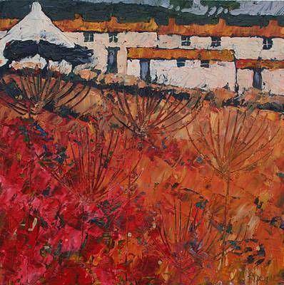 Autumn Parsley by British Contemporary Artist John PIPER