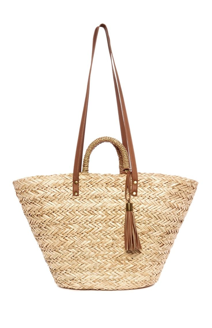 Primark - Straw Bucket Bag