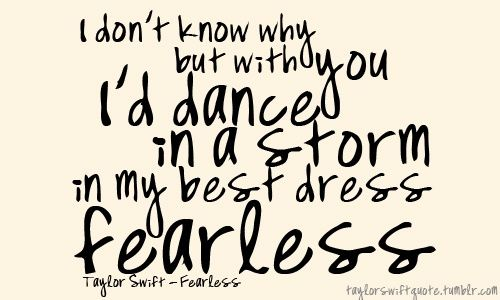 Fearless Taylor Swift Quote: Best 25+ Taylor Swift Tattoo Ideas On Pinterest