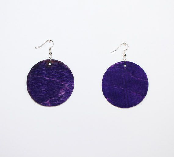 Check out this item in my Etsy shop https://www.etsy.com/listing/508958727/handmade-wooden-earrings-circle