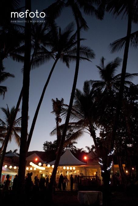 Sunset reception at NuNu Restaurant in Palm Cove overlooking the beach. Stunning location. www.mefoto.com.au