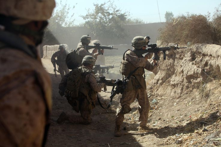 Marines in Combat | Marines with India Company, 3rd Battalion, 5th Marine Regiment ...
