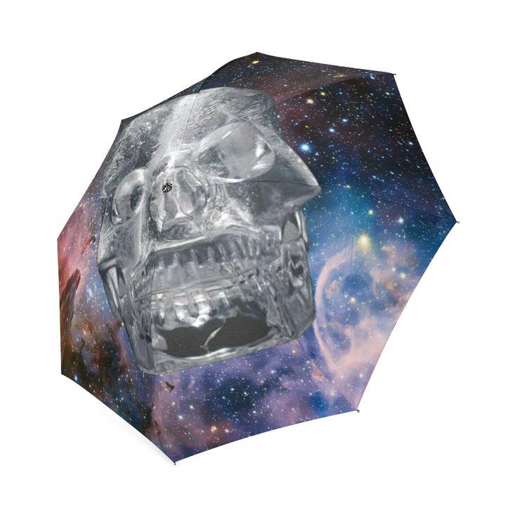 Crystal Skull Foldable Umbrella