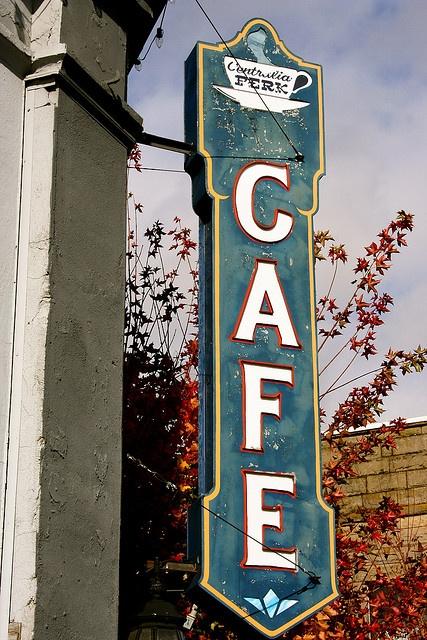 Centralia Perk Cafe, Centralia, Washington by Curtis Cronn, via Flickr
