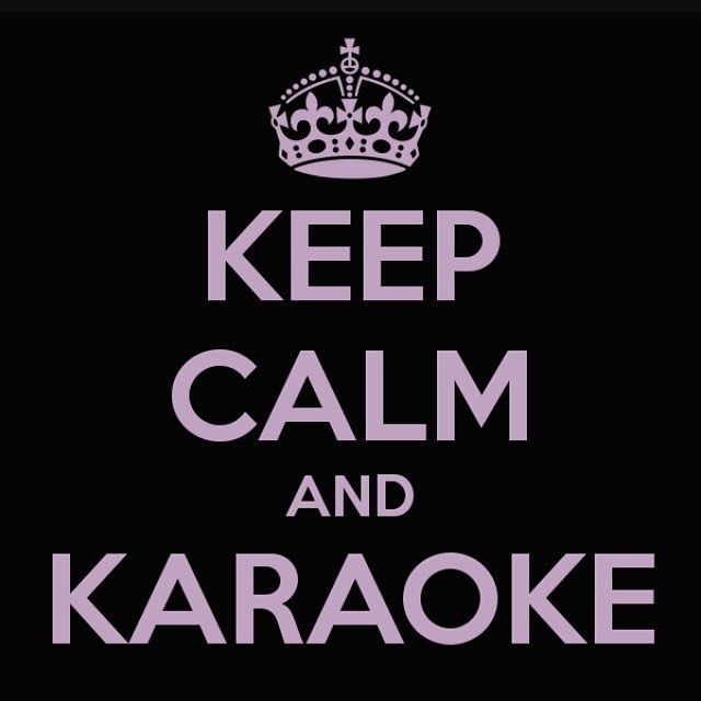 "Sometimes we need a little karaoke to let loose. My karaoke song is ""Under Pressure""...what's yours?"