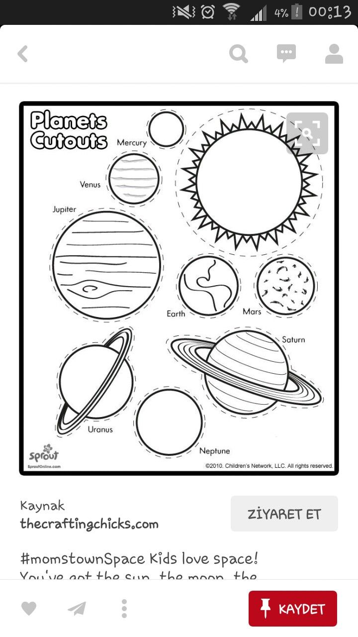 96 best dnya gne ay images on pinterest sistema solar our solar system comprising of the sun its planetary system of eight planets and various non stellar objects makes an excellent subject for childrens robcynllc Images
