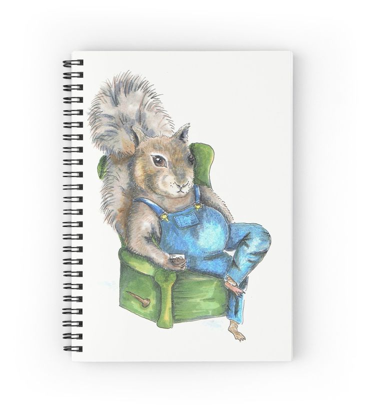 Squirrel with Jack-n-Coke, Squirrel watercolor, angry squirrel, drunk squirrel…