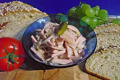 Bayrischer Wurstsalat 1