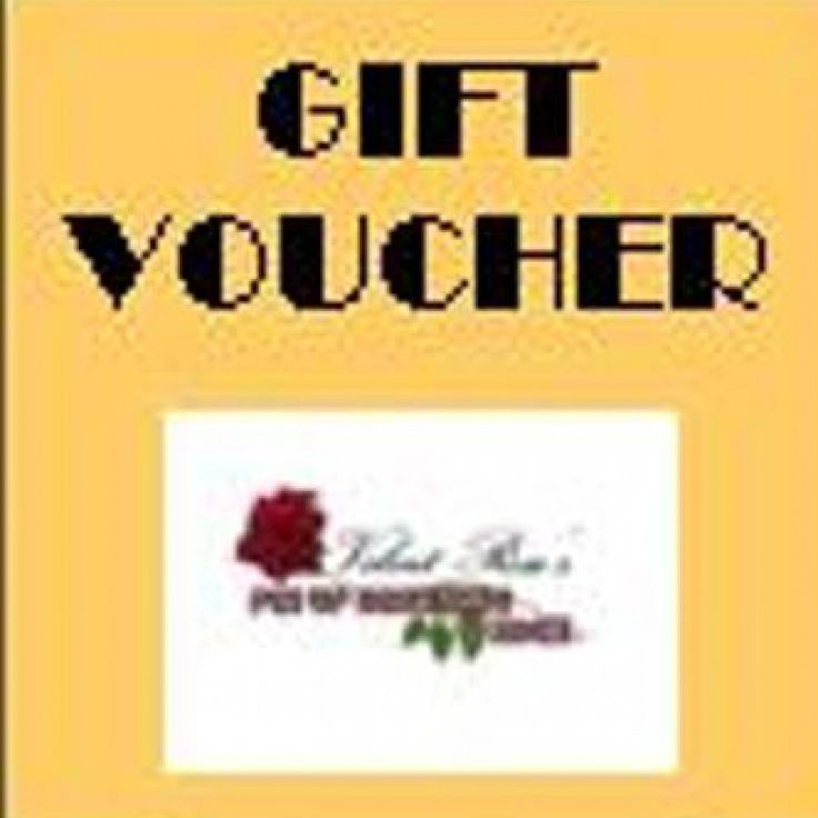 $25 Gift Voucher on Velvet Rose's Pin Up Dressing Room - The vintage shop tailored to you #Giftvoucher #StockingStuffer Free Postage within Australia