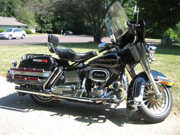 1978 Harley Shovelhead Flh Electra Glide 75th Anniversery Model 1200 Us 5 357 00 Davidson Pinterest And