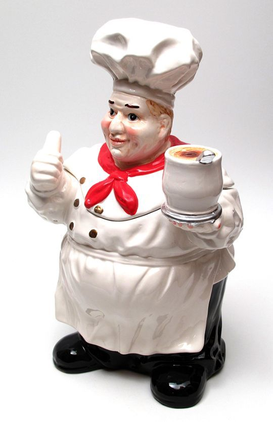 Fat Chef COOKIE JAR: Heads, Chef Cookie, Cookie Jars 1, Fat Chef, Cookie Biscuit Jars, Cookie Cracker Jars, Cookie Jars Always, Cookies Jars