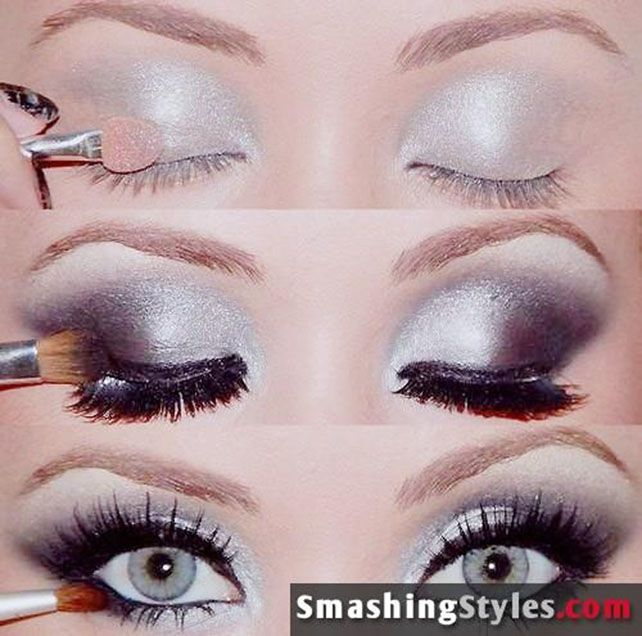 Metal Eye Shadow Tutorial #eyeshadow #makeup #beauty