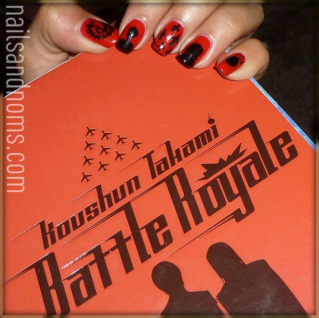 Nail Art Inspired By Battle Royale