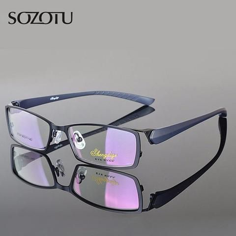 722c3c60135 Optical Eyeglasses Frame Men Computer Eye Glasses Brand Spectacle Frame For  Malemodlilj
