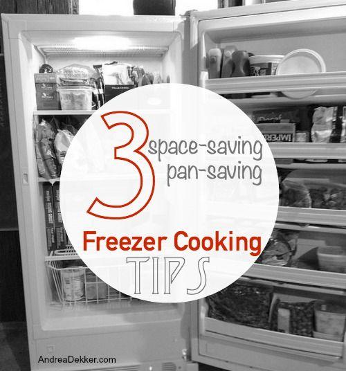 3 Space-Saving, Pan-Saving Freezer Cooking Tips   Andrea Dekker