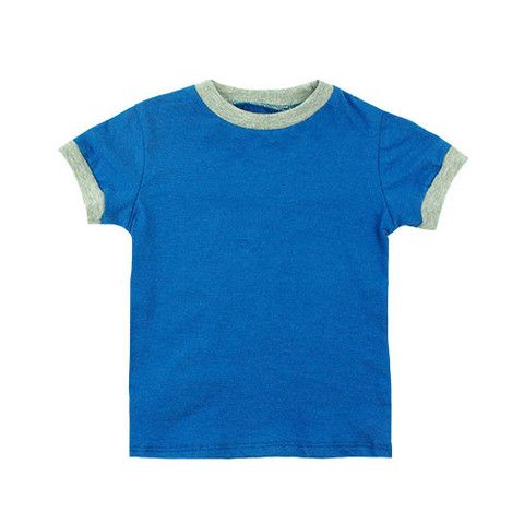 Retro Ringer Tee - mini mioche - organic infant clothing and kids clothes - made in Canada