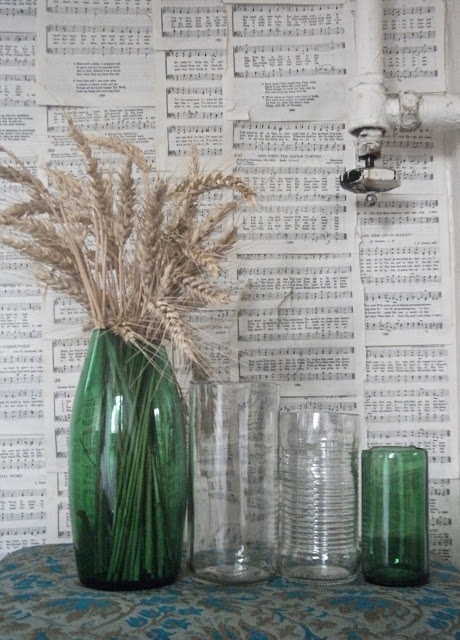 simple glass cutting from jars and bottles to vases and drinking glasses inspire me. Black Bedroom Furniture Sets. Home Design Ideas