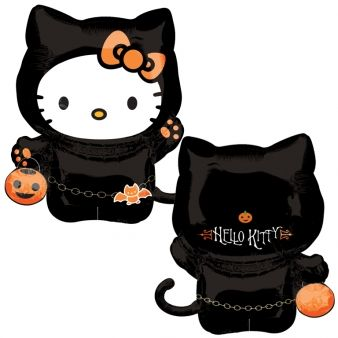 Ballon alluminium hello kitty™ Halloween