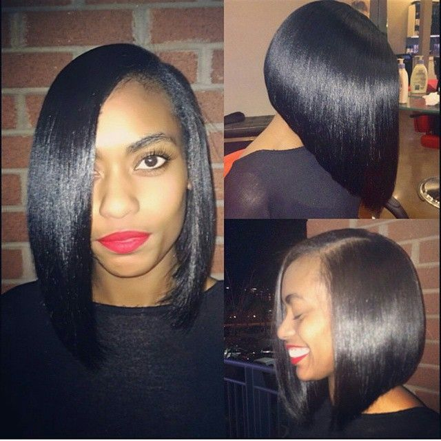 """Affordable luxury 100% virgin hair starting at $55/bundle in the USA. Achieve this look with our luxury line of Malaysian Light Yaki Straight hair extensions, available in lengths 12"""" - 26"""". www.vipextensionbar.com email info@vipextensionbar.com"""
