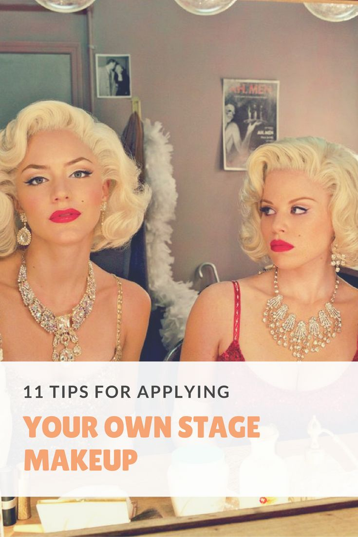 Stage makeup tips & tricks!