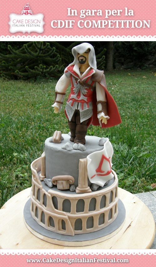 Assassins'creed #cake #cakededign