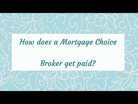 If our service is free to you, how does a Mortgage Choice Broker get paid?  Our short Money Chat videos give you all the information.
