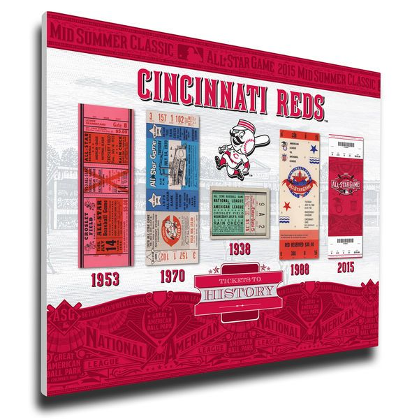 Cincinnati Reds All-Star Game Canvas Print - $79.99