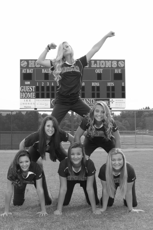 I wanna do this with mah softball gurls!