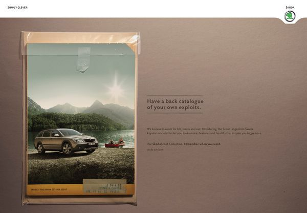 Skoda Scout Collections on Behance