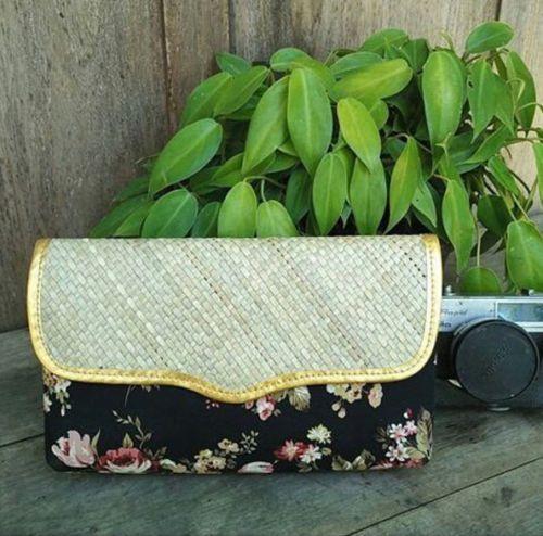 Gepenik Flower Shabby Chic Pandan Clutch Multidesign Evening Handbag Woman Purse | eBay