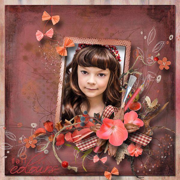 Autumn...The Crazy Painter by MiSiScrap¨