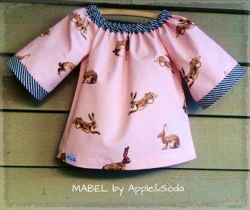 Apple&Soda   Children   Clothing   'Mabel' top - Handmade Emporium